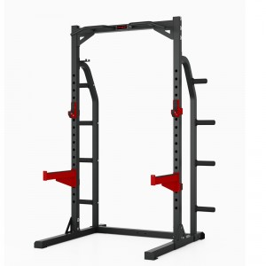 Multi rack squat station professionale deluxe Fassi Power 150