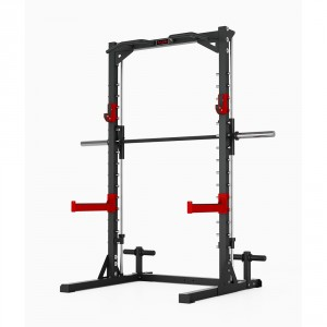 Smith machine e squat station professionale Fassi Power 200
