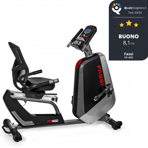Cyclette Recumbent Professionale Fassi FR 400