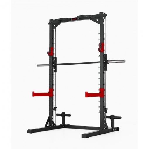 Smith machine e squat station professionale Fassi Power 200