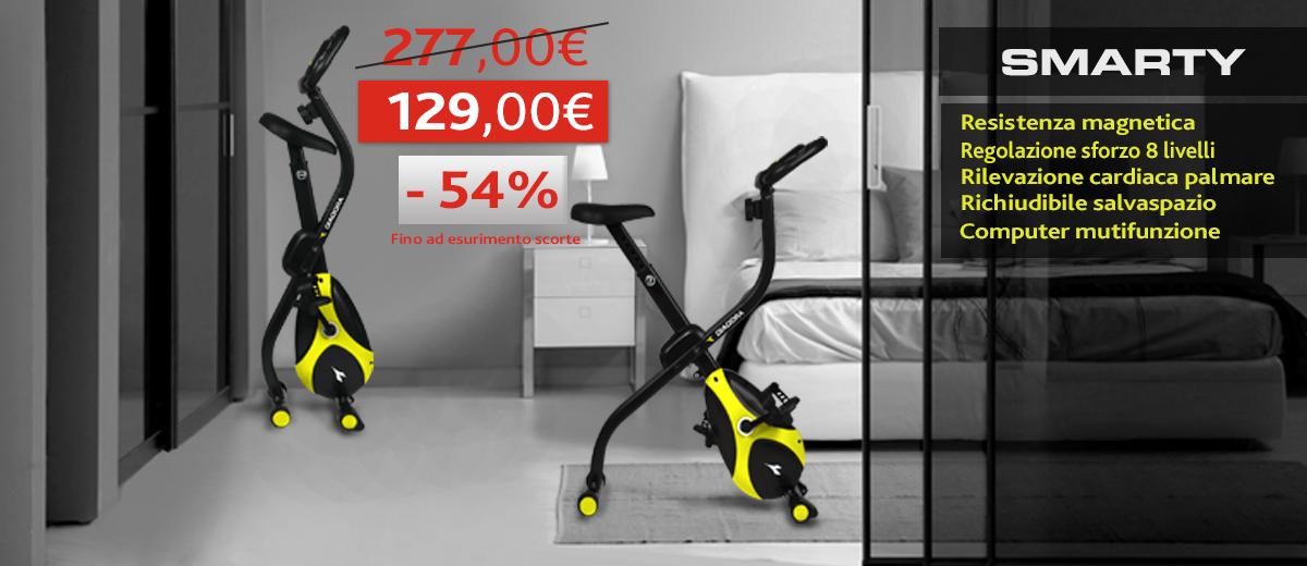 Promo Cyclette Diadora Smarty